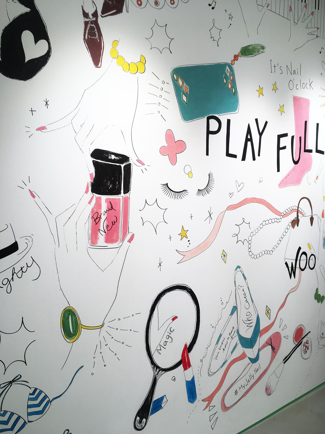 Jelly Nail壁画02