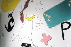 Jelly Nail壁画